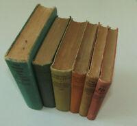 Harry Stephen Keeler, Ward, Lock & Co. Konvolut 6 Bücher