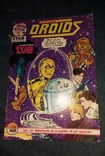 star wars droids comic telecomic presenta en espanol la guerra de las galaxias