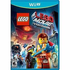 The LEGO Movie Videogame [Nintendo Wii U, NTSC, Action Adventure Video Game] NEW