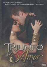 DVD - Triunfo Del Amor NEW 4 Disc Maite Perroni Wiliam Levy FAST SHIPPING !