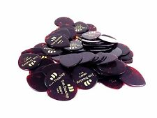 Dunlop Guitar Picks Teardrop Classic Celluloid Heavy Shell 72 Pack