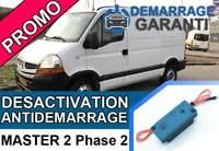 Clé de désactivation d'anti démarrage Renault MASTER 2 PHASE 2