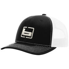 BANDED GEAR BLACK WITH WHITE MESH BACK TRUCKERS HAT