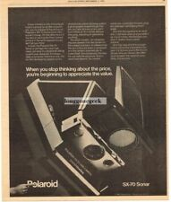1980 POLAROID Sx-70 Sonar One Step Land Camera Instant Vtg Print Ad