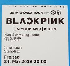 Tickets Blackpink Berlin 24.05.19 Innenraum Stehplätze Karten Eintrittskarten