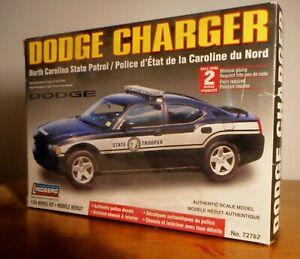 LINDBERG Model Dodger Charger NC State Patrol 1/24 Unbuilt