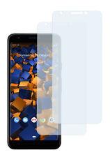 mumbi 2x Folie für Google Pixel 3a Schutzfolie klar Displayschutz Displayfolie