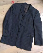 Sakko ♡♥ Jacke Blazer mit Wolle anthrazit grau senf ♡ Gr. 102 Gr. 50 = wie NEU
