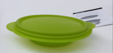 Tupperware Lime Green Flat Out Bowl with Seal ~ 3 Cups ~#5452 Flatout Brand New