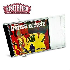 50x Klarsicht Schutzhüllen für CD's 0,3 mm Plastikschutz Protectors Box Cases