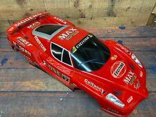 "RC Painted Precut  Drift Touring Racing Ferrari Enzo Body Shell 28"" Long 12"" W"
