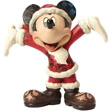 Disney Traditions 4046016 Christmas Cheer Mickey Mouse Figurine