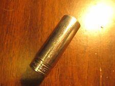 "1992 Snap-on Tools USA 3/8"" Drive 11/16"" SAE DEEP 6 point Chrome Socket SF221"
