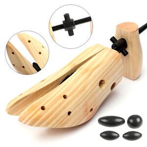 2-Way Wooden Adjustable Shoe Stretcher Expander Men Women Boot Shoes Size US9-14