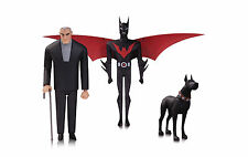 DC Comics Batman Beyond Batman, Bruce Wayne, & Ace Action Figure Set