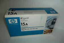 HP 15A Black Toner Cartridge 2,500 Pages 1005 3300 3380 1200 1220 C7115A OEM NEW