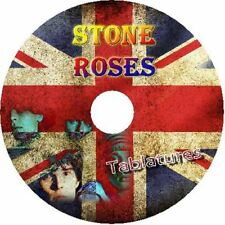 STONE ROSES BASS & GUITAR TAB CD TABLATURE GREATEST HITS BEST OF ROCK MUSIC UK