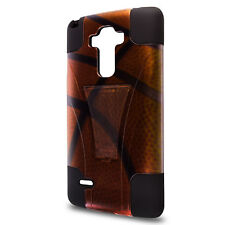 For LG G Stylo Case - Basketball Design Hybrid Rugged Skin Phone Cover