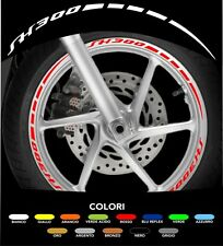 Kit Adesivi Cerchi Moto Ruote SH 300
