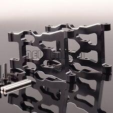 ALUMINUM FRONT / REAR LOWER SUSPENSION ARM HPI MINI SAVAGE XS FLUX SXS5501 BLACK