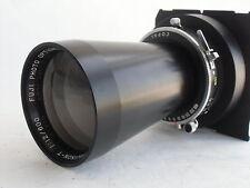 Fuji (Fujinon) T 600mm /f 12.0 lens, Copal shutter, TOYO ext. lens board(760291)