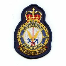 RCAF CAF Canadian 407 Squadron Heraldic Colour Crest Patch