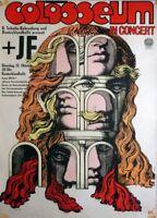 COLOSSEUM - 1970 - Konzertplakat - Concert - IF - Kieser - Tourposter - Berlin
