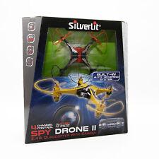 Silverlit 84738 Spy Drone II Quadcopter mit Kamera Indoor 2,4 GHz Farbe Orange