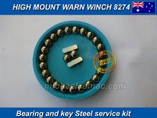 Warn Winch high mount 8274 Brake's Bearing and Key Steel service kit Rebuild
