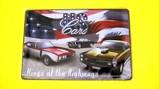 Wall Decor Metal Tin Car SIGN Home Garage poster (US Cars Kings Of The Highway)