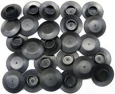 "GM 3/8"" Flush Mount Body Plugs- Fits 3/8"" Hole- 3/4"" Diameter- 25 plugs- #057"