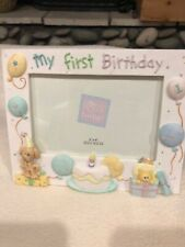 Baby Girls 1st Birthday Frame