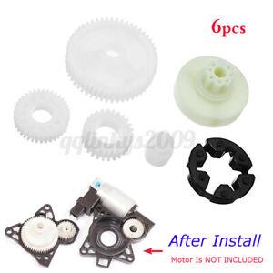 For Mazda 3 5 6 CX-7 CX-9 RX-8 Front Rear Window Motor Gear Regulator Repair Kit