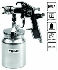 Hvlp Colour Paint Spray Pistols 1000 Ml 1,4 mm Compressed Air Container