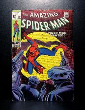 COMICS: Marvel: Amazing Spiderman #70 (1969), 1st cameo Vanessa Fisk app - RARE