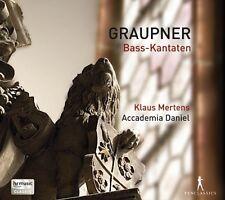 Graupner / Mertens / Accademia Daniel / Ad-El - Bass-Kantaten [New CD]