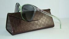 100%Authentic GUCCI GG 3633S VQRDX GREY GREEN Sunglasses Grey Gradient Size 55