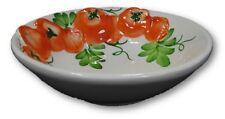 Bassano italienische Relief Keramik Servier Schälchen Salat 16 cm Tomate NEU