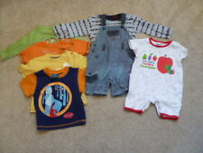 Baby Boys Hungry Caterpiller, George and Cherokee Tops Bundle - Age 6-9 Months