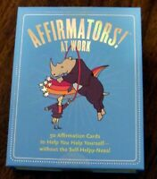 Affirmators! at Work: 50 Affirmation Cards to Help You Help Yourself