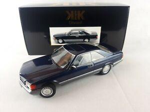 Mercedes-Benz 560 SEC (C126) • 1985 • NEU • KK-Scale KKDC180333 • 1:18