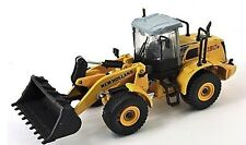 New Holland W190B Wheeled Loader 1/87th Scale Yellow/Grey - Tracked 48 Post