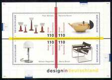 Germany 1998 Design/Furniture/Glassware 4v m/s (n28074)