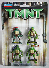 RARE 2006 TMNT MUTANT NINJA TURTLES MOVIE 4 FIGURE SET DON LEO RAPH NEW SEALED !