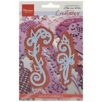 """Marianne Design Creatables Dies LR0271 ~ Anja's Vintage Swirls, Up To 3.875"""""""