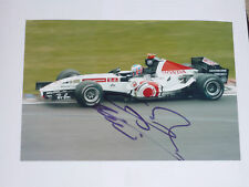 Jenson Button  signed A4 Size photo