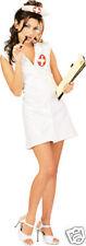 Secret Wishes Female Naughty Nurse Costume  PVC  LOOK