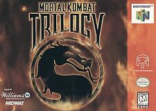 Mortal Kombat (Trilogy Edition) (Nintendo 64, 1996)