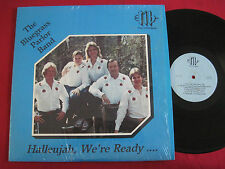 RARE PRIVATE GOSPEL BLUEGRASS LP - THE BLUEGRASS PARLOR BAND - HALLEUJAH