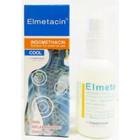 50 ML Elmetacin Indomethacin Cool Spray Relief of Muscle Pain Swelling Myositis